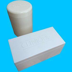 Clinique Branded Plastic Containers Bundle